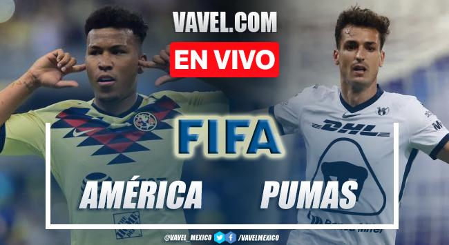 Gol y resumen del América 0-1 Pumas en Partido Amistoso 2021