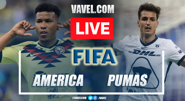 Goal and Highlights: America 0-1 Pumas  in Friendly Match 2021