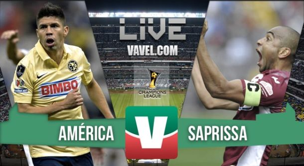 Resultado América - Saprissa en Concachampions 2015 (2-0)
