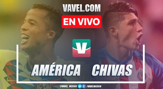 Resumen y video goles América 4-1 Chivas en Liga MX 2019