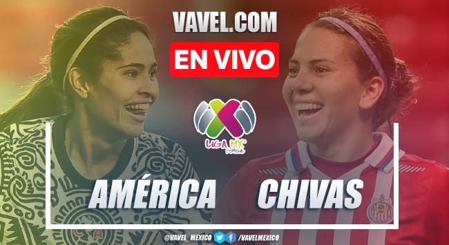 Goles y resumen del América Femenil 2-4 Chivas Femenilen Liga MX Femenil 2021