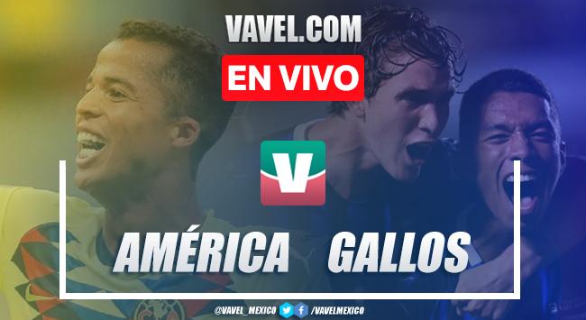 Resumen y goles América 2-2 Querétaro en Liga MX 2019