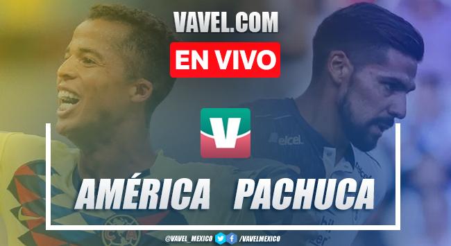 Resumen y video goles Club América 1-1 Pachuca en Liga MX 2019