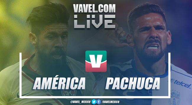 Resultado y resumen América 3-0 Pachuca en Liga MX 2019