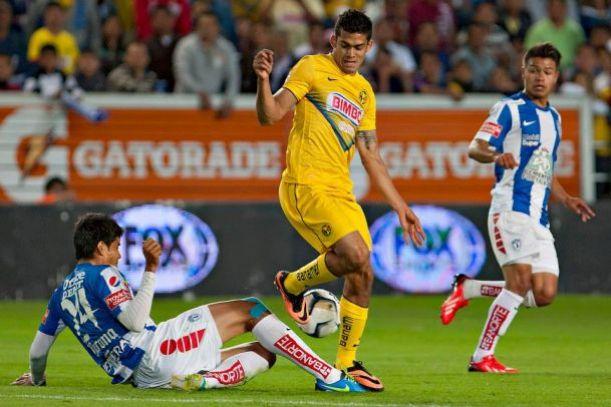 Resultado América - Pachuca en Liga MX 2014 (2-1)