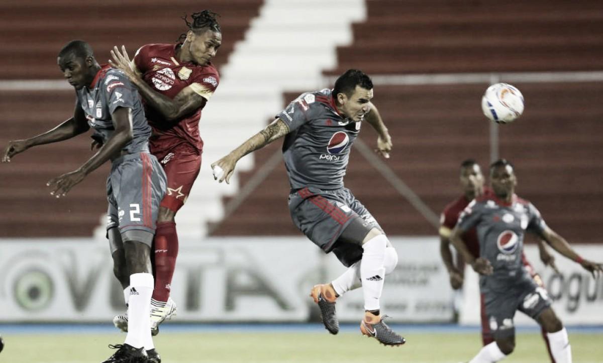 Datos del América y su derrota ante Rionegro Águilas