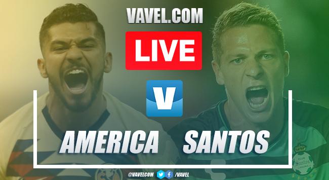 Goals and Highlights: America 1-2 Santos, 2019 Liga MX