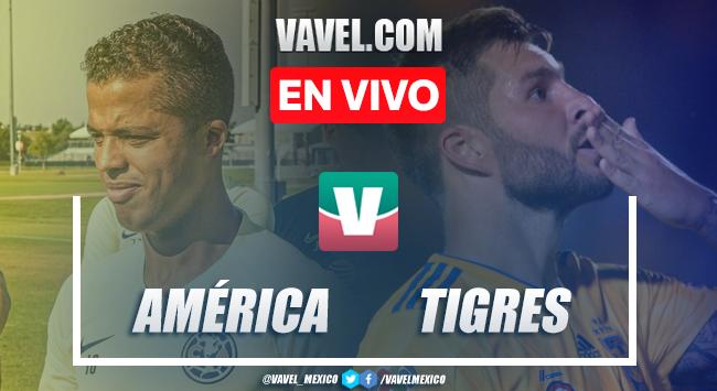 Resumen y goles del América(6)0-0(5)Tigres en Campeón de Campeones 2019
