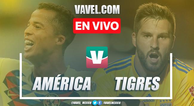 América vs Tigres en vivo cómo ver transmisión TV online en Leagues Cup 2019 (0-0)