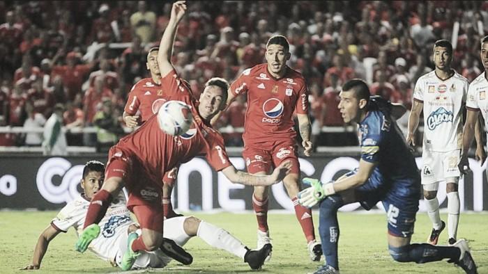 América cedió puntos como local ante el Deportes Tolima