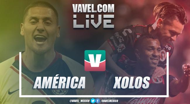 Goles del partido América vs Xolos (4-0)