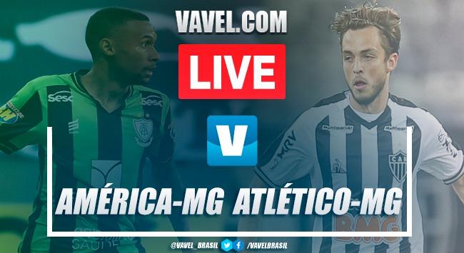 Gols e melhores momentos de América-MG 0 x 3 Atlético-MG pelo Campeonato Mineiro 2020