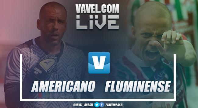 Resultado Americano 0 x 4 Fluminense no Campeonato Carioca 2019