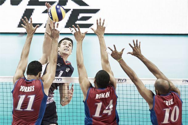 Com uma partida impecável, Estados Unidos batem Porto Rico pelo Mundial