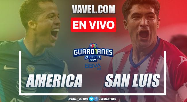 Goles y resumen: América 2-1 Atlético San Luis en Liga MX Guardianes 2021 | 09-01-2021