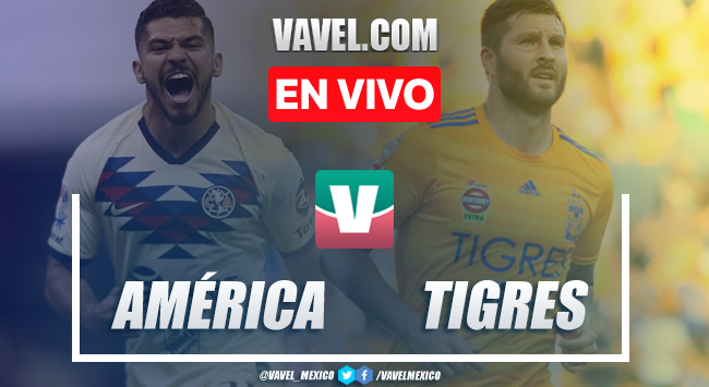 Resumen y video goles América 1-2 Tigres en Apertura 2019