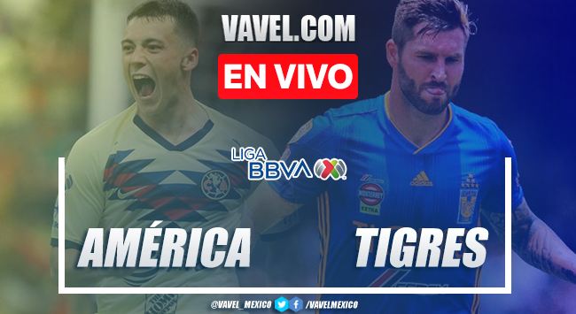 Resumen y video goles América 1-0 Tigres en Clausura 2020