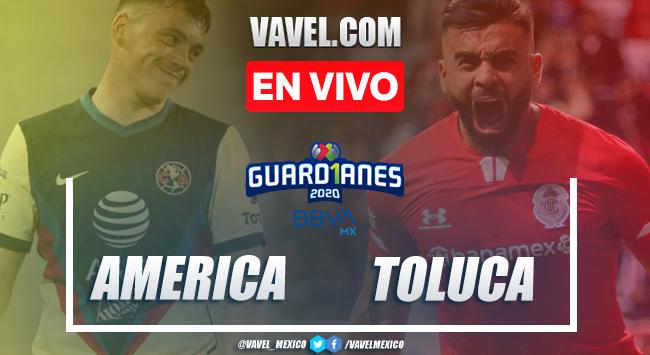 Goles y resumen: América 1-1 Toluca en Liga MX Guard1anes 2020