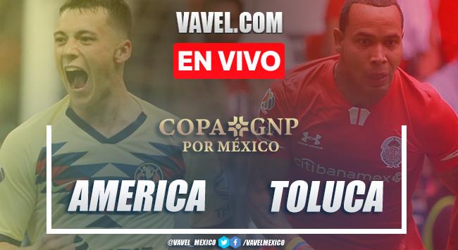 Resumen y goles: América 2-0 Toluca en Copa GNP 2020