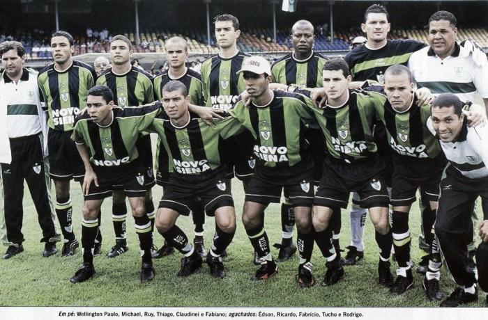 Relembrando: Em 2001, América ressurge no Estadual e conquista o título frente ao Atlético