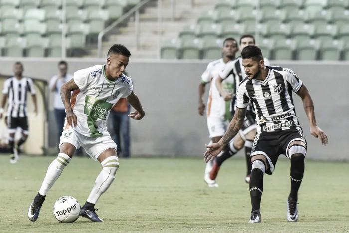 Buscando primeira vitória em casa pela Série B, América-MG recebe embalado Ceará