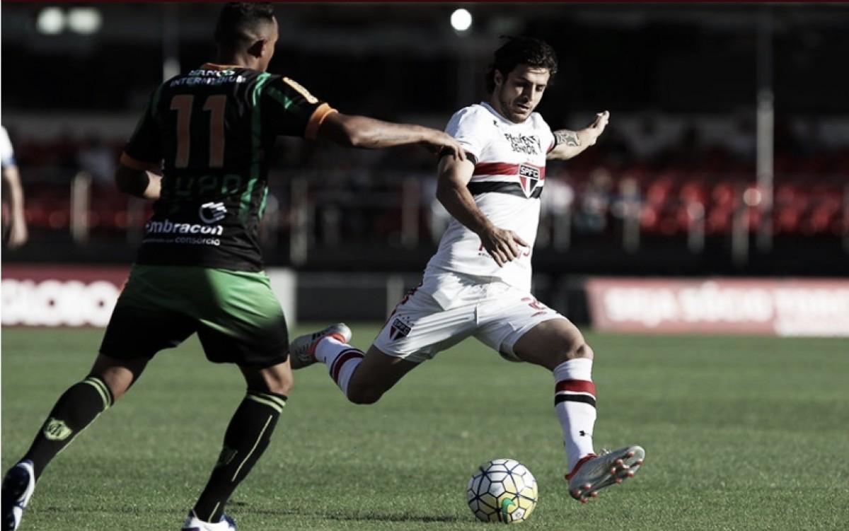 Resultado América-MG x São Paulo pelo Campeonato Brasileiro 2018 (1-3)