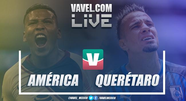 Resultado y goles del América 1-2 Querétaro en Amistoso Fecha FIFA 2018