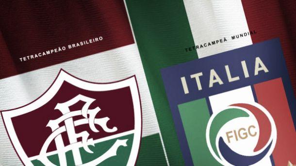 Em duelo de tetracampeões, Itália enfrenta o Fluminense em último amistoso preparatório para a Copa