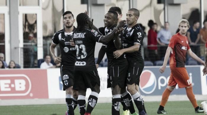 Monterrey obtiene la victoria en amistoso en Estados Unidos