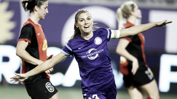 Orlando Pride adds Alex Morgan to 20-player roster, waive Christina Burkenroad