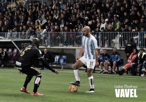 Fotos e imágenes del Málaga 2-2 Granada, jornada 13 de la Liga BBVA