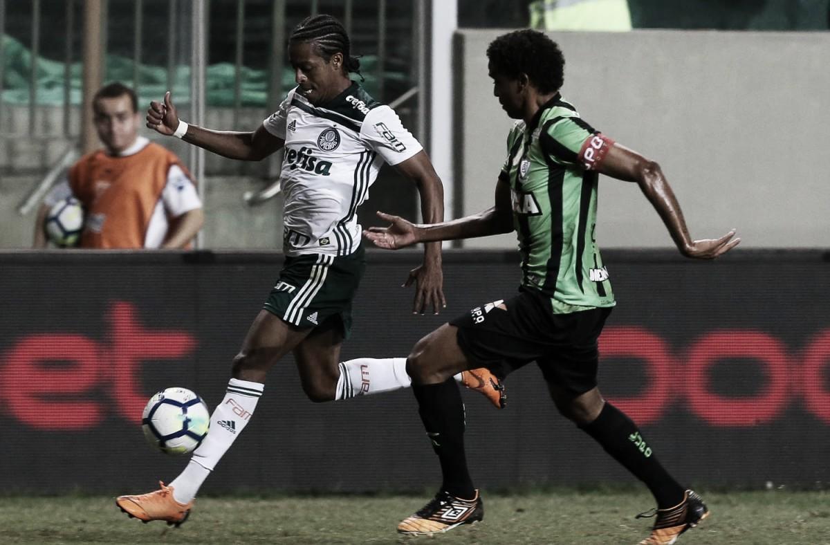 No reencontro de Adilson Batista com Felipão, América-MG e Palmeiras duelam no Brasileiro