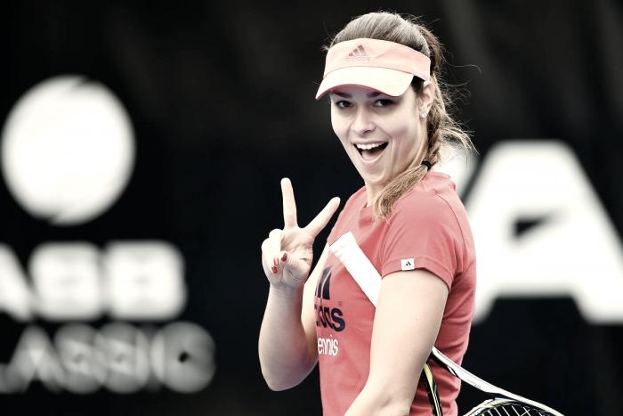 """Ana Ivanovic: """"La carrera es contra mí misma"""""""