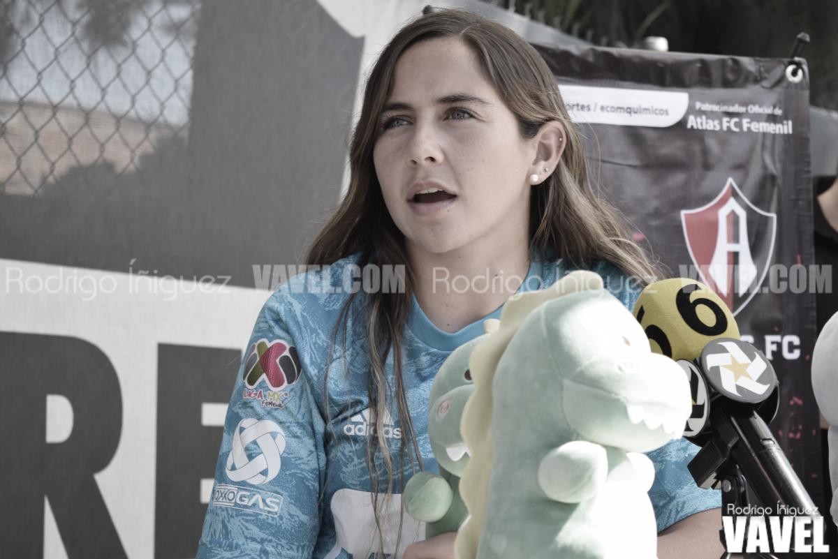 """Ana Gabriela Paz: """"Los rojinegrosson los colores con los que crecí y los que siempre apoyé"""""""