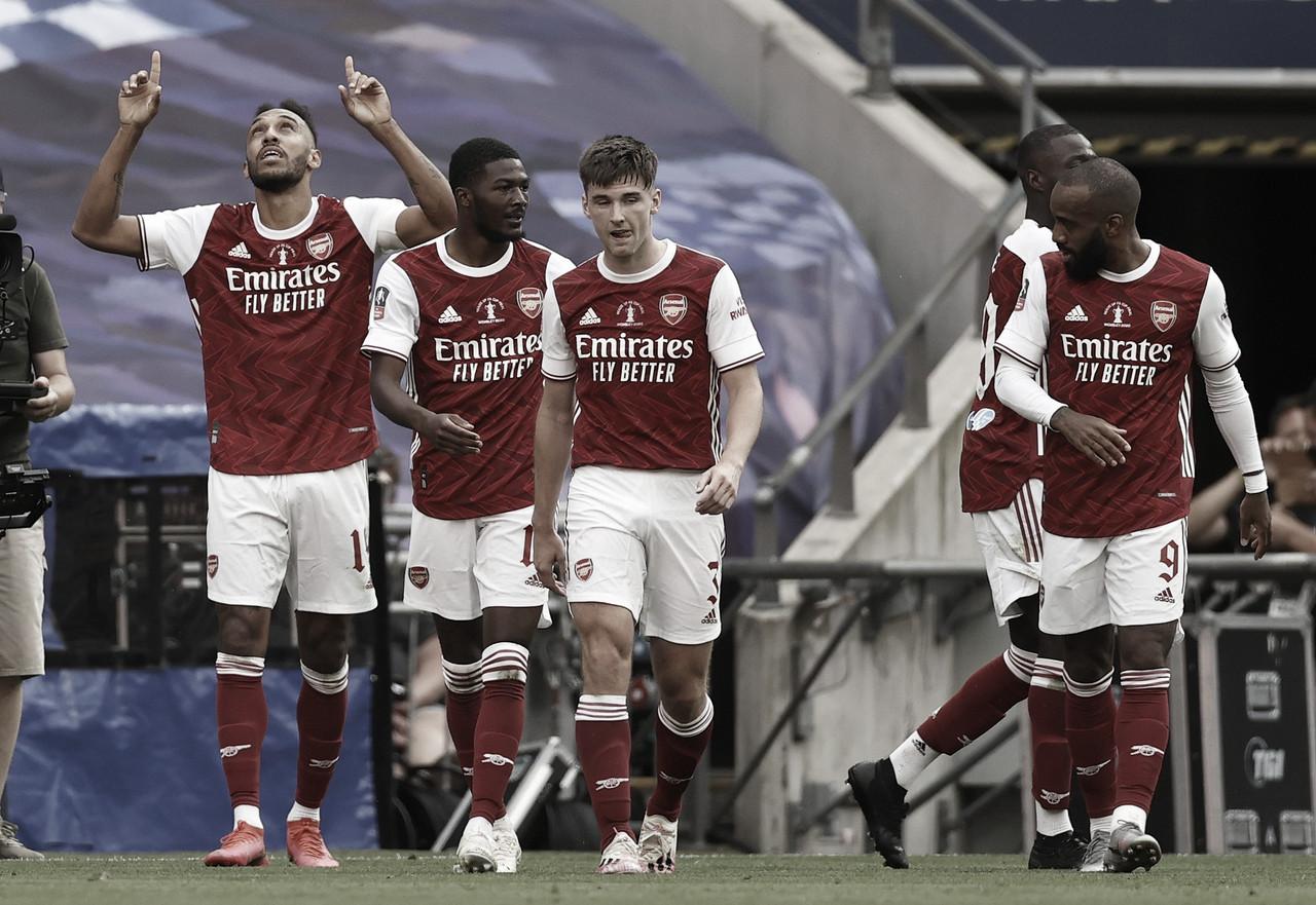 Análise: Mesmo com menos posse de bola, estratégia de Arteta prevalece na final da FA Cup