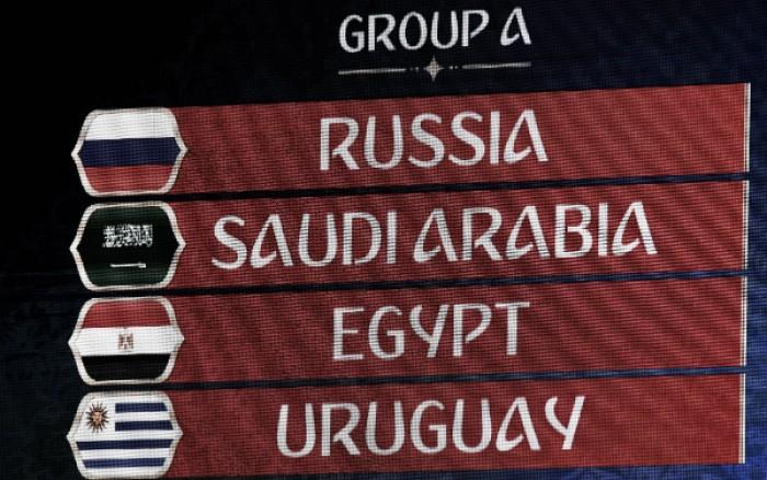 Anfitriã Rússia tem missão dura no Grupo A e joga para não ser eliminada na primeira fase