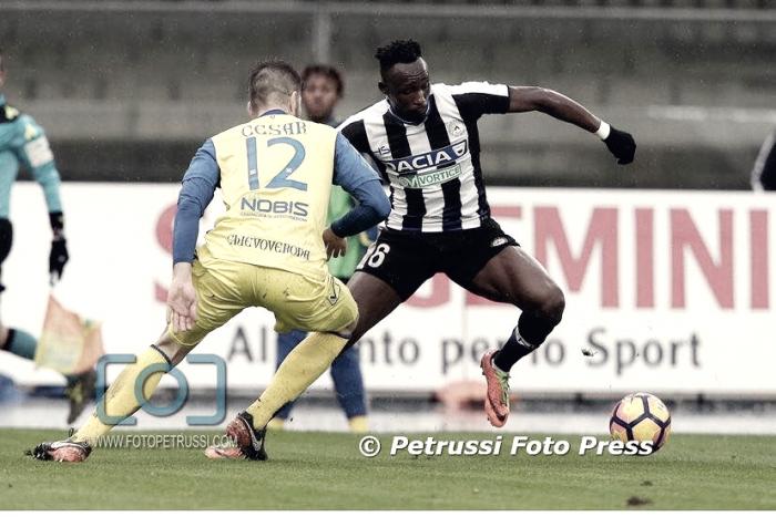 Udinese - Contro il Chievo una sfida che ha detto pochissimo
