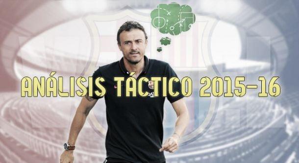 FC Barcelona 2015/16: análisis táctico