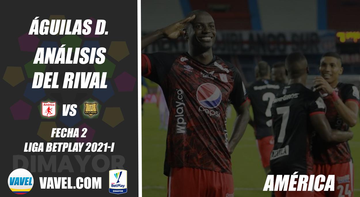 Águilas Doradas, análisis del rival: América de Cali (Fecha 2, Liga 2021-I)