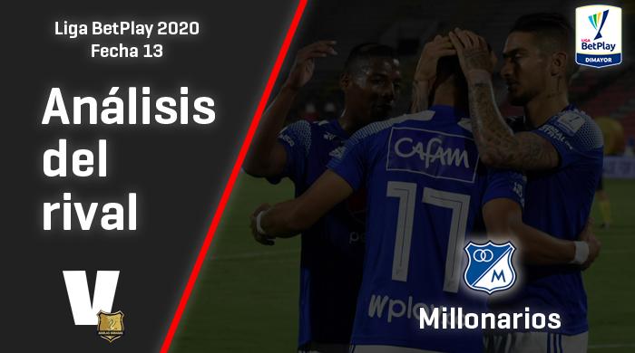 Águilas Doradas, análisis del rival: Millonarios Fútbol Club (Fecha 13, Liga I2020)