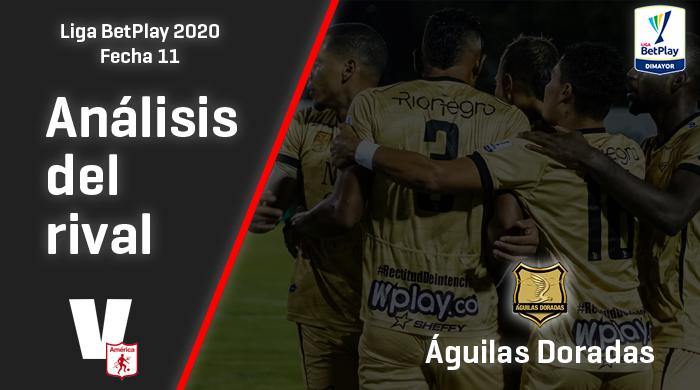 América de Cali, análisis del rival: Águilas Doradas (Fecha 11, Liga 2020)