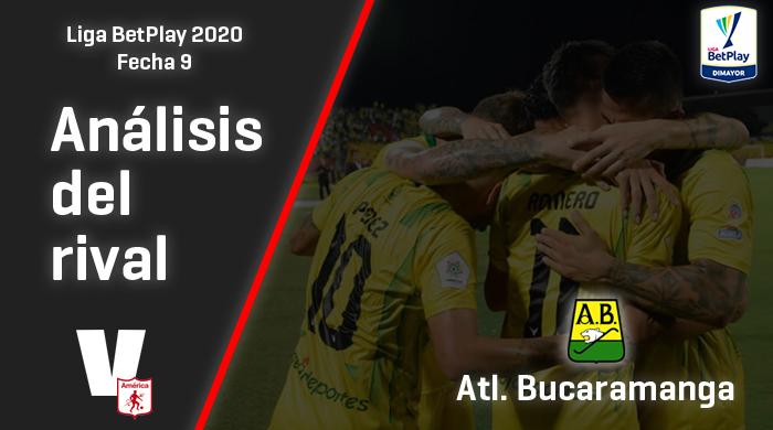 América de Cali, análisis del rival: Atlético Bucaramanga, (Fecha 9, Liga 2020)