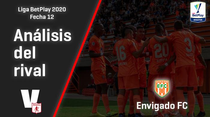 América de Cali, análisis del rival: Envigado FC(Fecha 12, Liga 2020)