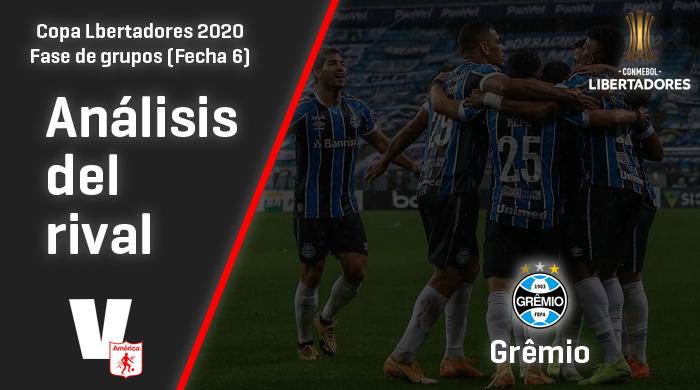 América de Cali, análisis del rival: Grêmio (Fecha 6, Libertadores 2020)