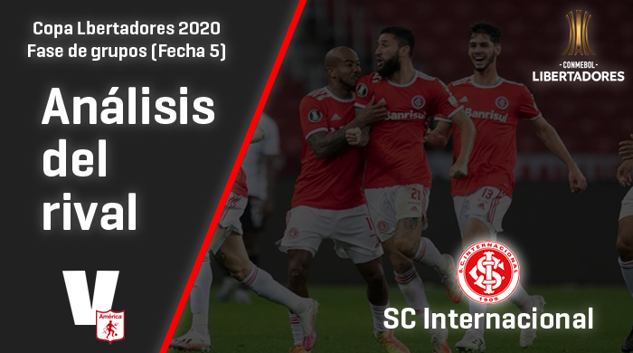 América de Cali, análisis del rival: SC Internacional (Fecha 5, Libertadores 2020)