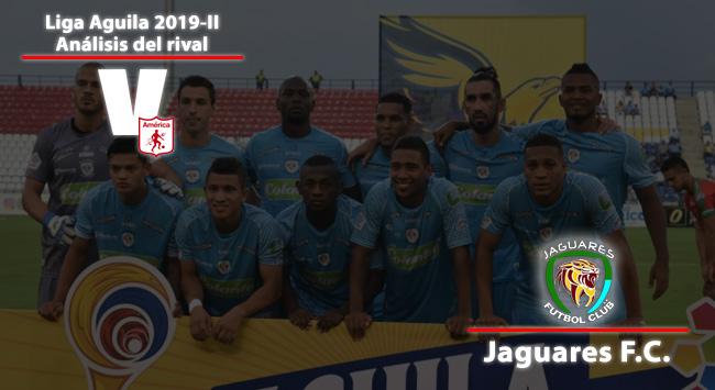 América de Cali, análisis del rival: Jaguares de Córdoba