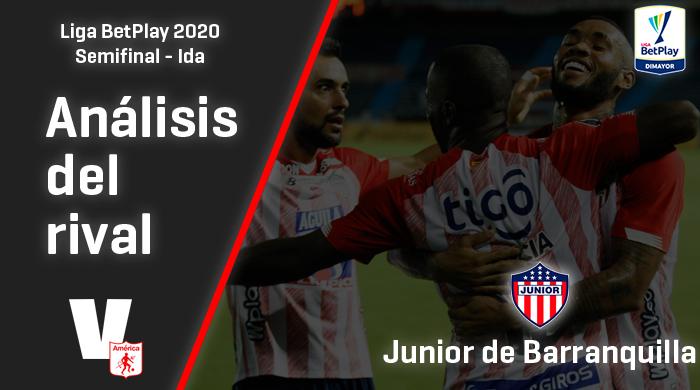 América de Cali, análisis del rival: Junior de Barranquilla (Semifinal - ida, Liga 2020)