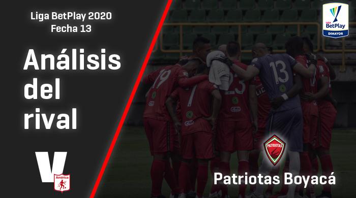 América de Cali, análisis del rival: Patriotas Boyacá (Fecha 13, Liga 2020)