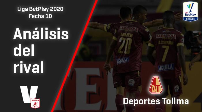 América de Cali, análisis del rival: Deportes Tolima (Fecha 10, Liga BetPlay Dimayor)