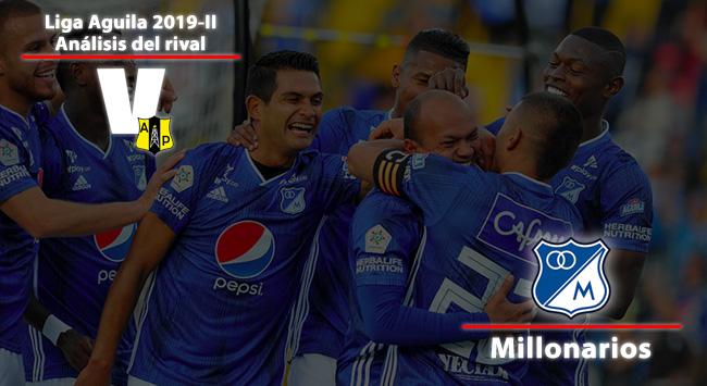 Alianza Petrolera, análisis del rival: Millonarios F.C.